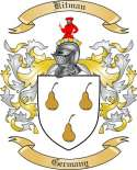 Kitman Family Coat of Arms from Germany