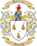 Kitterman Family Crest from Germany