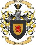 Klauhs Family Crest from Germany