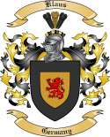 Klaus Family Coat of Arms from Germany2