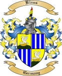 Klaus Family Crest from Germany