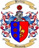 Kleilein Family Crest from Germany
