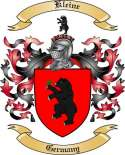 Kleine Family Coat of Arms from Germany