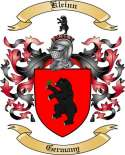 Kleinn Family Coat of Arms from Germany