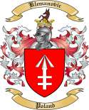 Klemanovic Family Crest from Poland