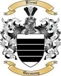 Klemt Family Coat of Arms from Germany