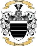Klemts Family Crest from Germany