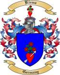 Klemz Family Crest from Germany