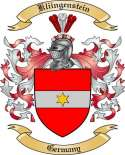 Kliingenstein Family Crest from Germany