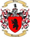 Kline Family Crest from Germany