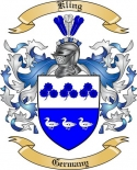 Kling Family Crest from Germany2