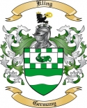 Kling Family Crest from Germany