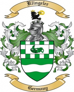 Klingeler Family Coat of Arms from Germany