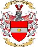 Klingenschmied Family Coat of Arms from Germany