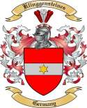 Klinggensteines Family Crest from Germany