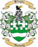 Klingler Family Coat of Arms from Germany