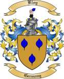 Kloy Family Crest from Germany
