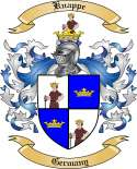 Knappe Family Crest from Germany