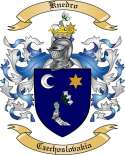 Knedro Family Crest from Czechoslovakia