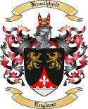 Knochholt Family Coat of Arms from England