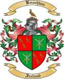 Knochton Family Crest from Ireland