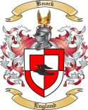 Knock Family Crest from England