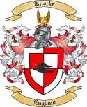 Knocks Family Coat of Arms from England