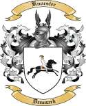 Knoester Family Crest from Denmark