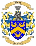Knot Family Crest from England