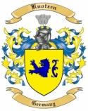 Knotzen Family Coat of Arms from Germany