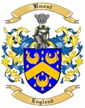 Knout Family Coat of Arms from England