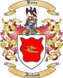 Knox Family Coat of Arms from Ireland