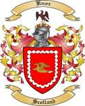 Knox Family Coat of Arms from Scotland