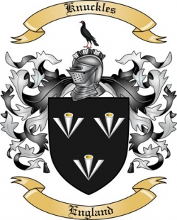 Knuckles Family Coat of Arms from England2