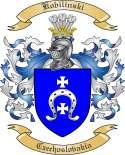 Kobilinski Family Crest from Czechoslovakia