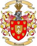 Koch Family Crest from Germany