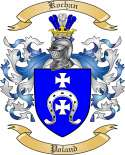 Kochan Family Crest from Poland