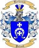 Kochanek Family Crest from Poland