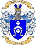 Kochanowski Family Crest from Poland