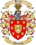 Kochs Family Crest from Germany