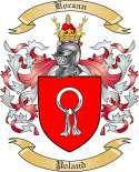 Koczan Family Crest from Poland