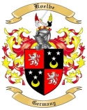 Koelbe Family Coat of Arms from Germany