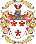 Kramer Family Coat of Arms from Germany