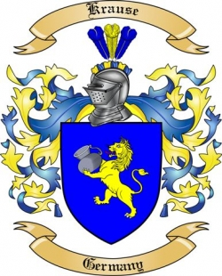 Krause Family Coat of Arms from Germany