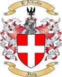 L'Altrella Family Coat of Arms from Italy