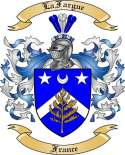 LaFargue Family Crest from France
