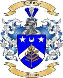 LaForge Family Crest from France