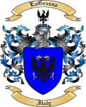LaGrasso Family Crest from Italy