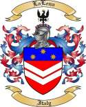 LaLena Family Coat of Arms from Italy