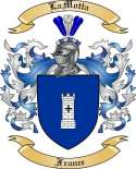 LaMotta Family Coat of Arms from France2